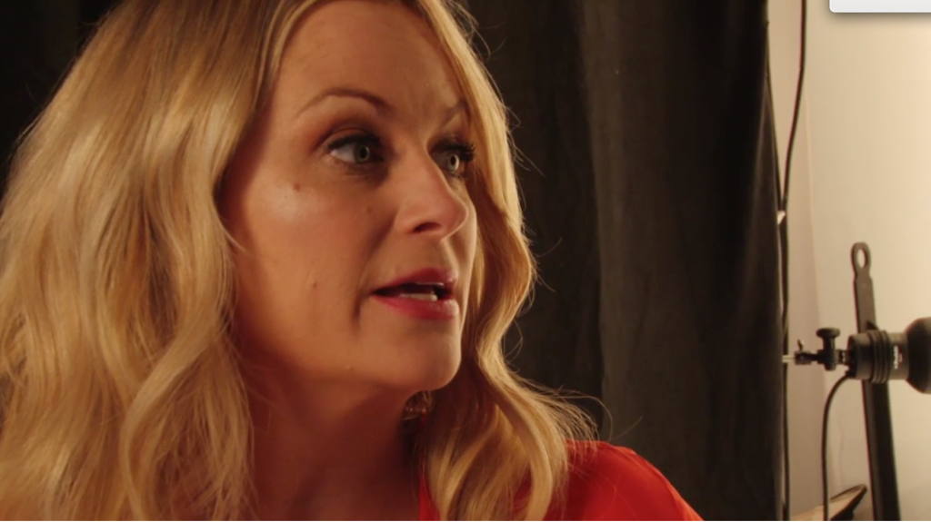 Amy Poehler on Kissing Santa Claus (and Jesus)