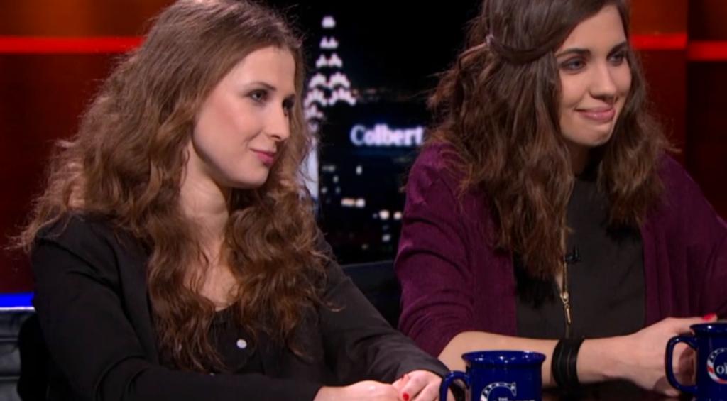 Pussy Riot on The Colbert Report: Part 1