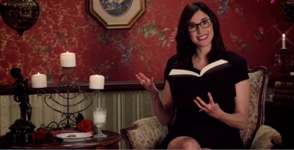 Michaela Watkins Reads Filthy James Joyce