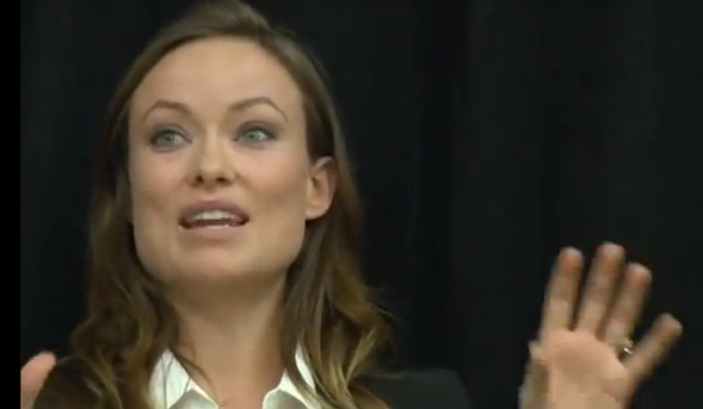 Olivia Wilde Explains Hollywood Sexism in 7 Words
