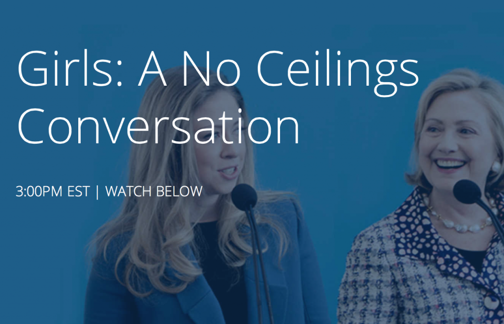 A No-Ceilings Conversation With Hillary And Chelsea Clinton