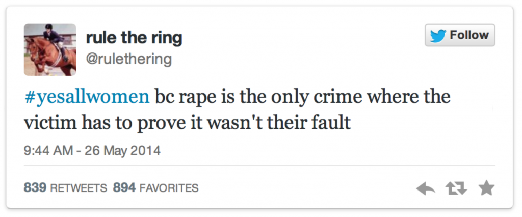 Twitter Against Misogyny: 20 Top Tweets From The #YesAllWomen Revolution