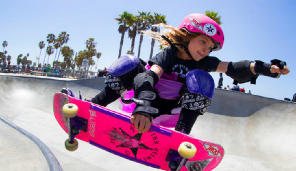Gnarly in Pink: 6 Year Old Shredders