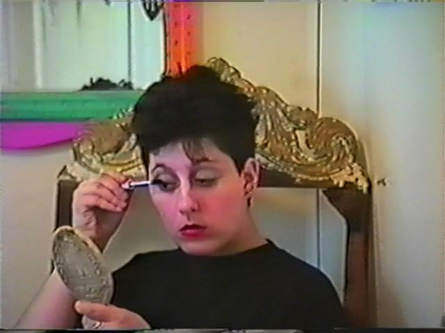 LADY- Samara Halperin's adventure in Female Drag from 1989!
