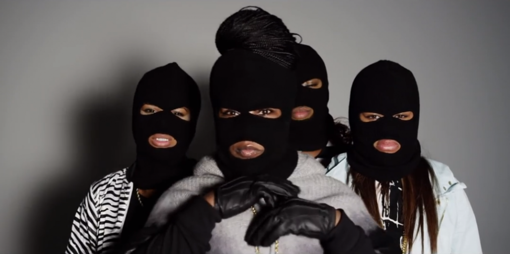 The Masked Lady Rapper You Never Knew You Needed