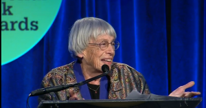 Ursula Le Guin: Art is Not Deodorant