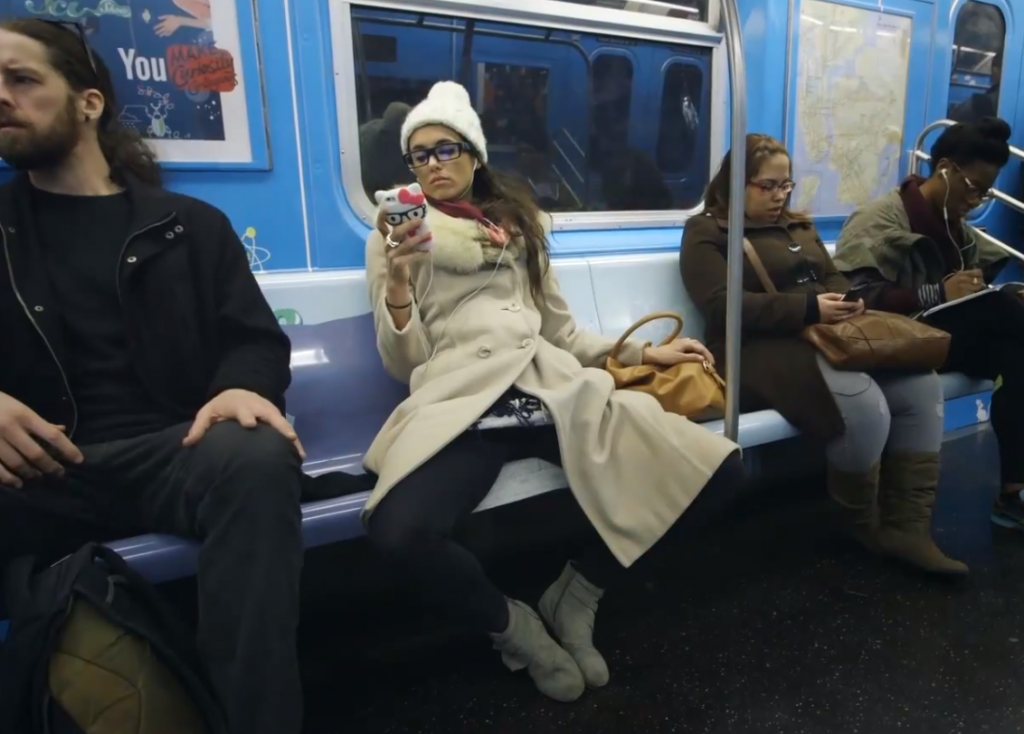 Watch What Happens When a Woman Manspreads