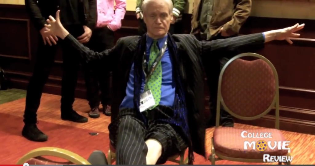 Kim Fowley Talks About The Runaways (With Backup Singers).