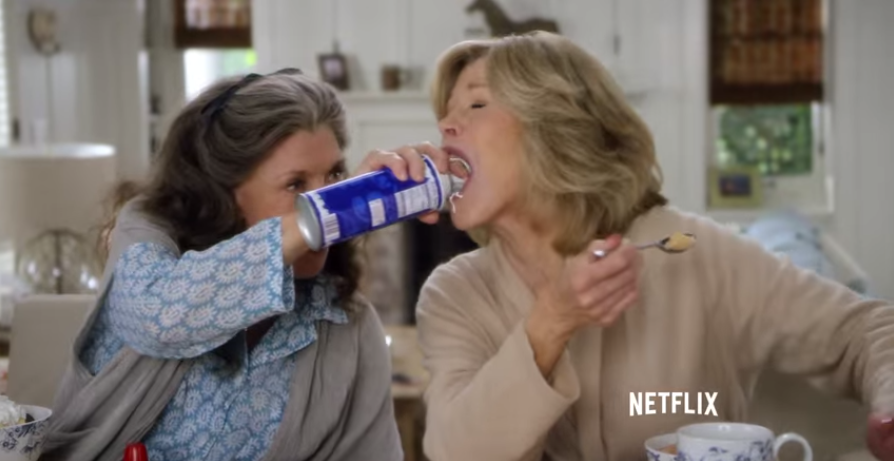 First Look at Grace and Frankie