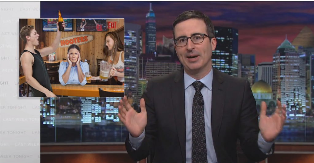 John Oliver Knows What Moms Really Wanted For Mother's Day