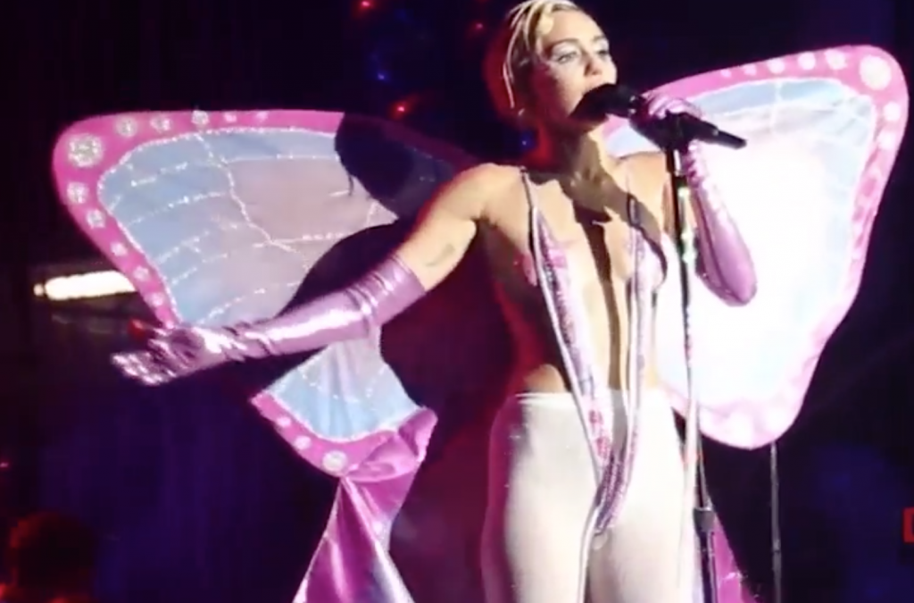 Watch Miley Cyrus Make The Suits Squirm (NSFW)