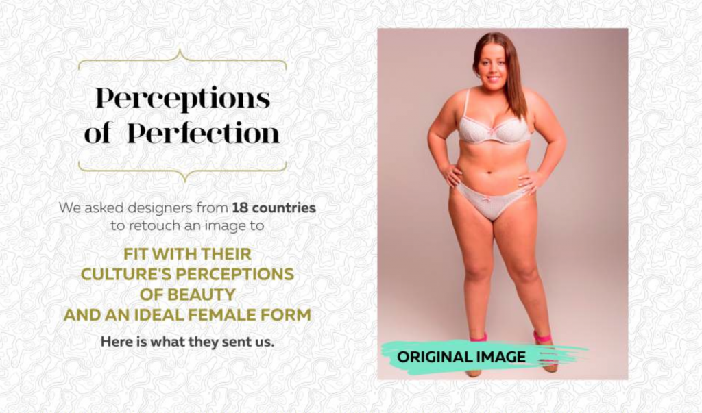 See How The Ideal Woman Looks Around The World