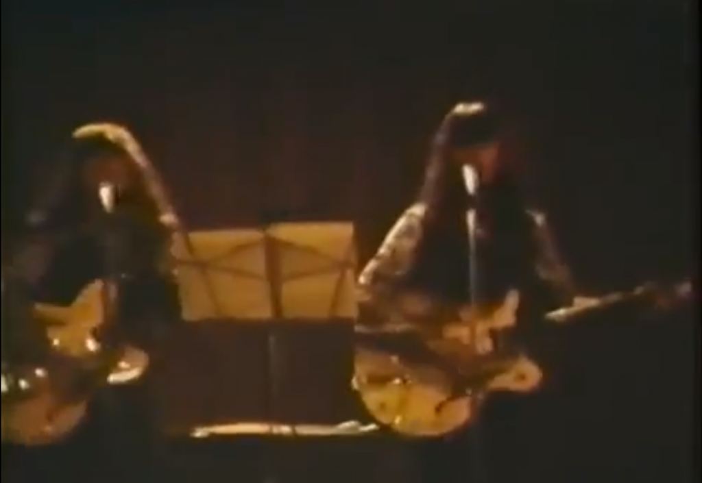 See the Shaggs Live in 1972