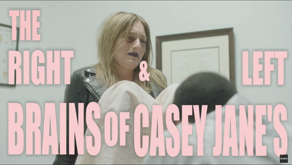 The Right and Left Brains of Casey Jane\'s