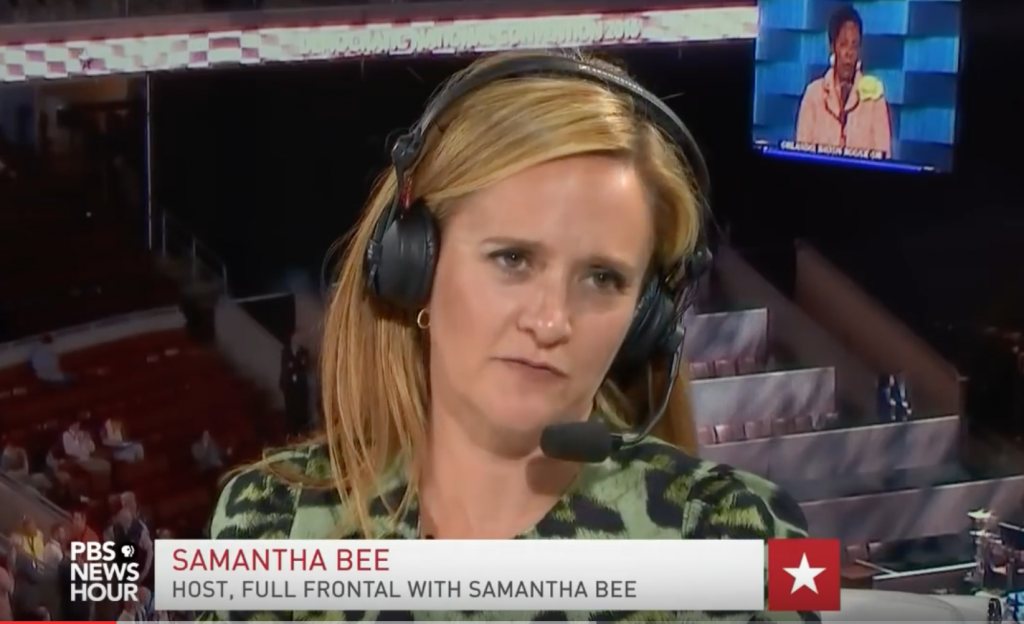 Samantha Bee at the DNC