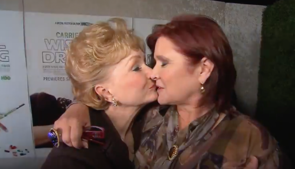 Debbie Reynolds Telling Carrie Fisher She's Proud Might Just Kill You Too.